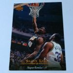 1995-96 Upper Deck Seattle Supersonics Basketball Card #222 Shawn Kemp